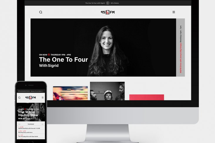 95bFM New website